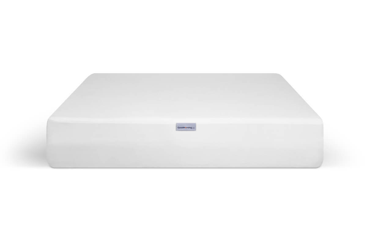 GoodMorning.com mattress protector fully placed on mattress